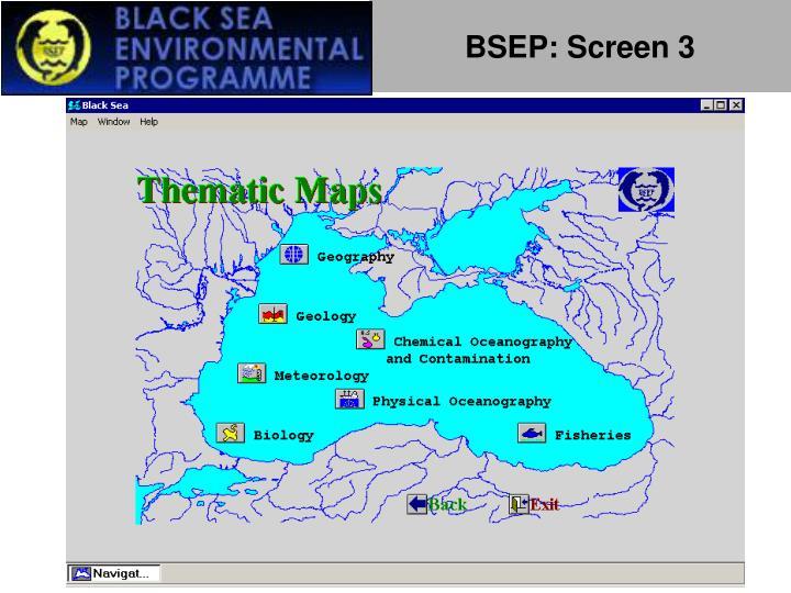 BSEP: Screen 3