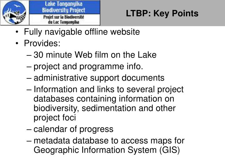 LTBP: Key Points