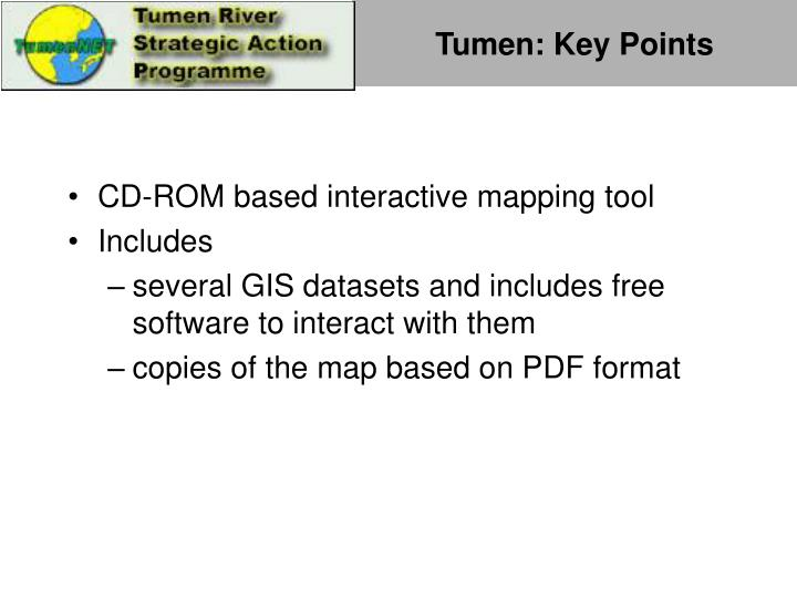 Tumen: Key Points