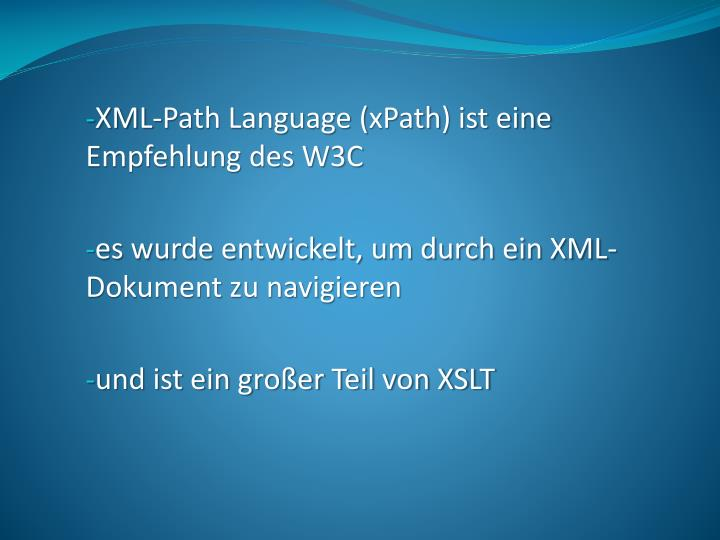 XML-Path
