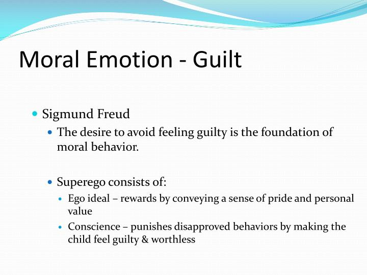 Moral Emotion - Guilt