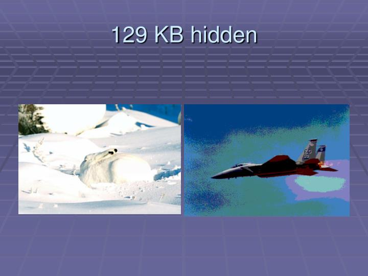 129 KB hidden