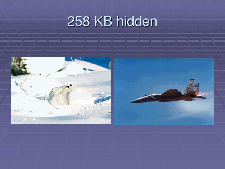 258 KB hidden