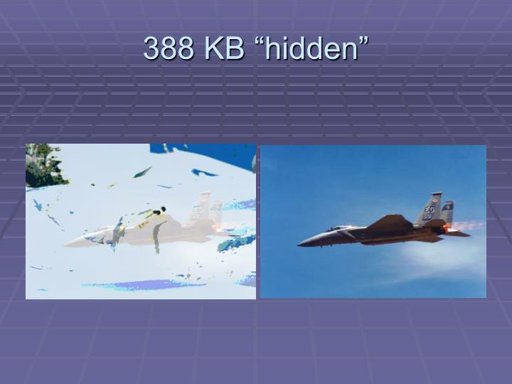 "388 KB ""hidden"""