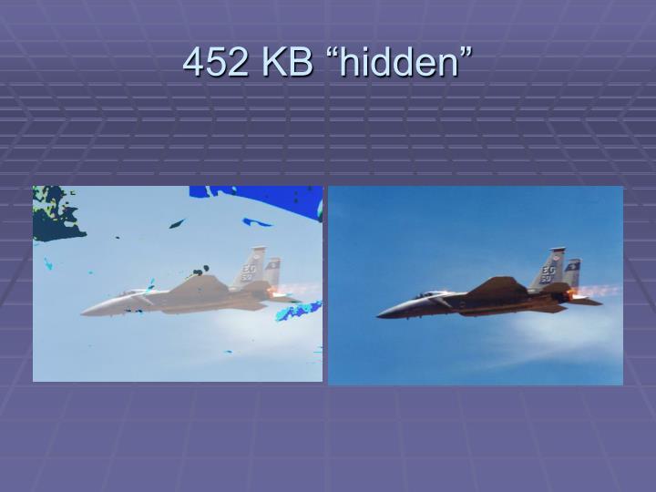 "452 KB ""hidden"""