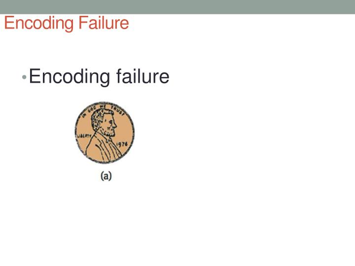 Encoding Failure