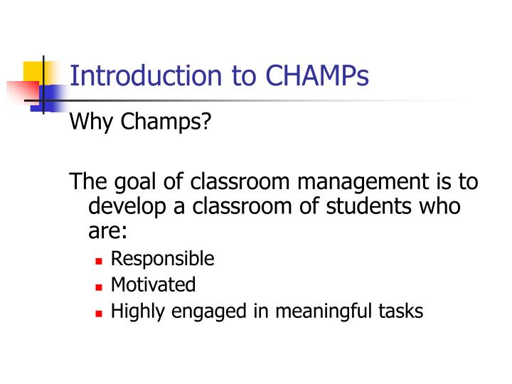 classroom management an introduction Classroom management plan a - free download as word doc (doc), pdf file (pdf), text file (txt) or read online for free.