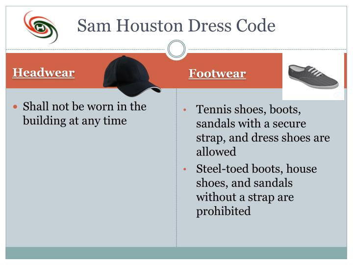 Sam Houston Dress Code