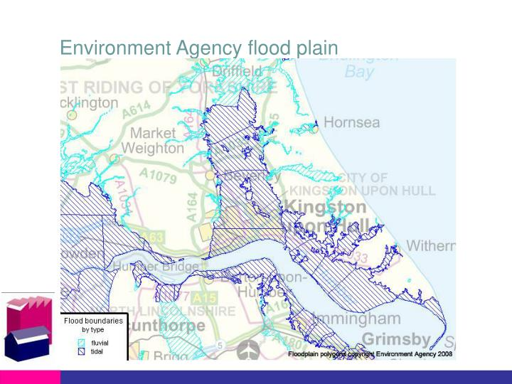 Environment Agency flood plain