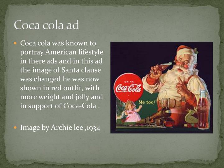 Coca cola ad