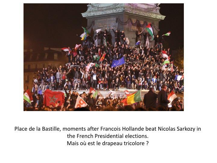 Place de la Bastille, moments after Francois