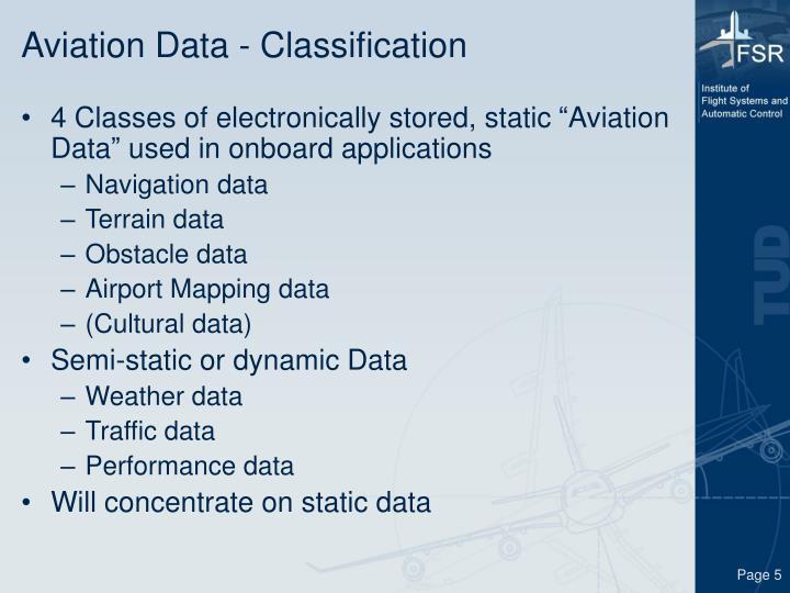 Aviation Data - Classification