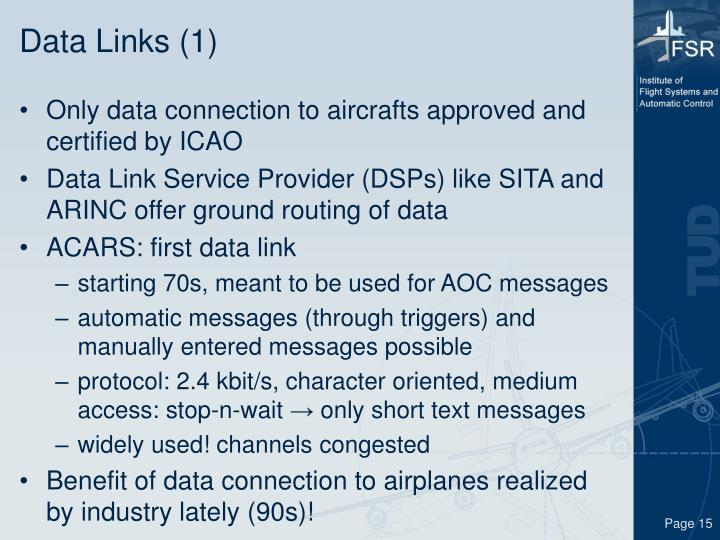 Data Links (1)