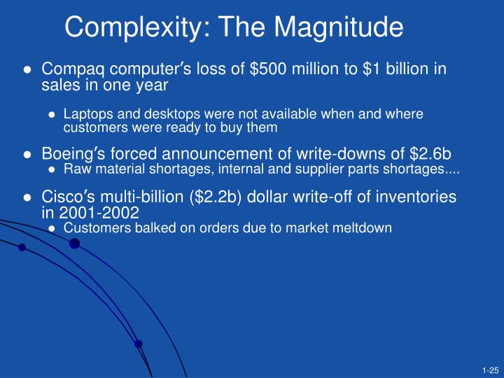 Complexity: The Magnitude