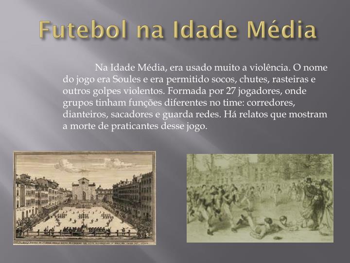 Futebol na Idade Média