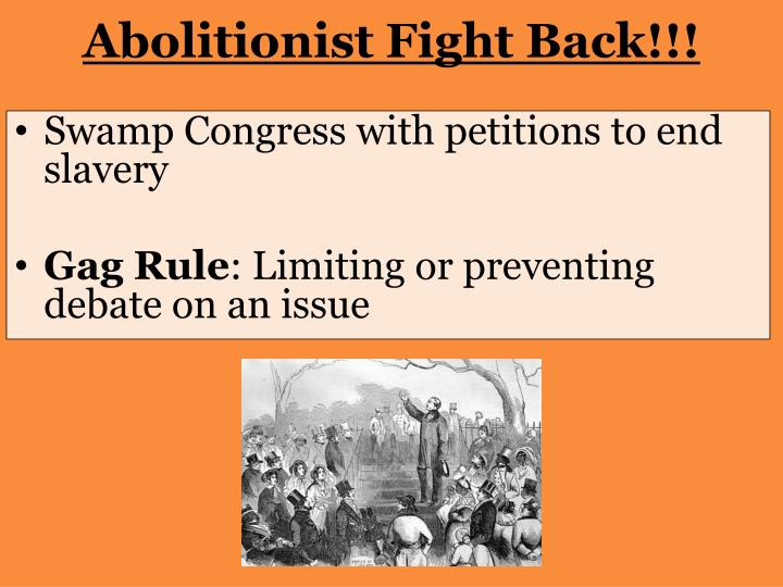 Abolitionist Fight Back!!!