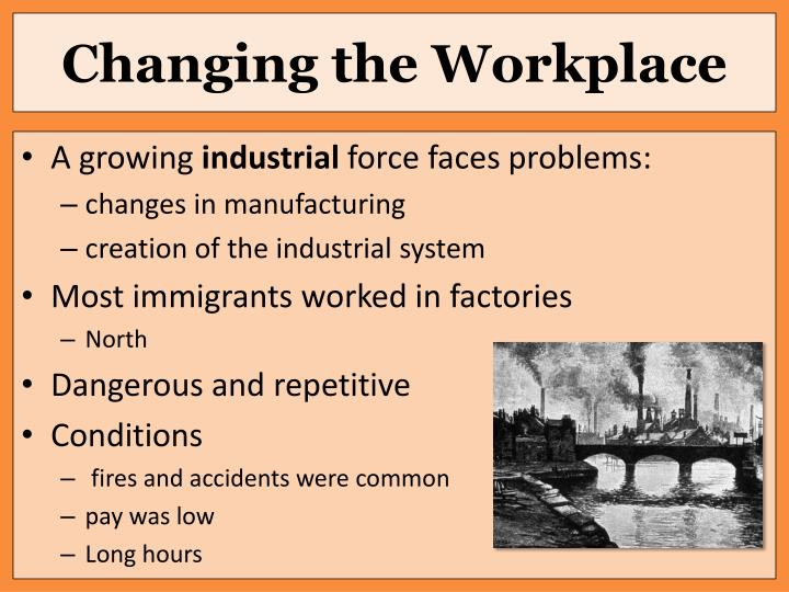 Changing the Workplace