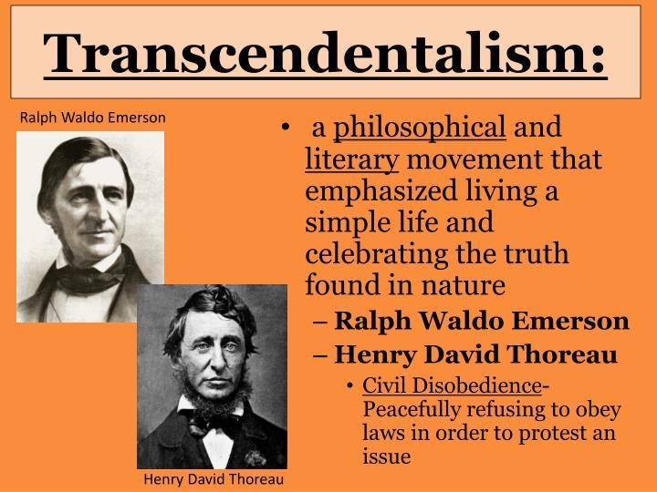 Transcendentalism: