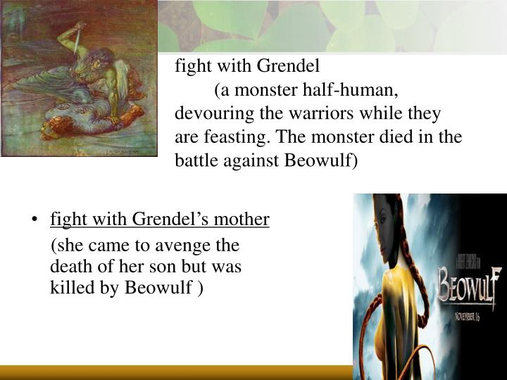 fight with Grendel