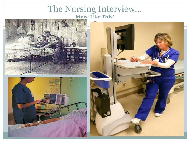 The Nursing Interview…