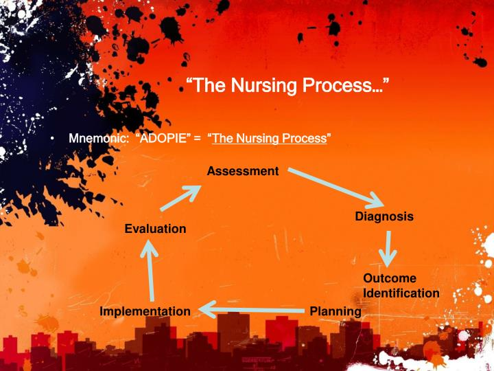 """The Nursing Process…"""
