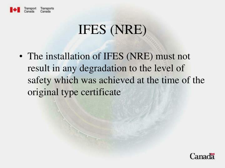 IFES (NRE)