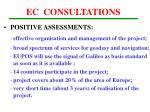 ec consultations