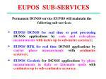 eupos sub services