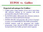 eupos vs galileo
