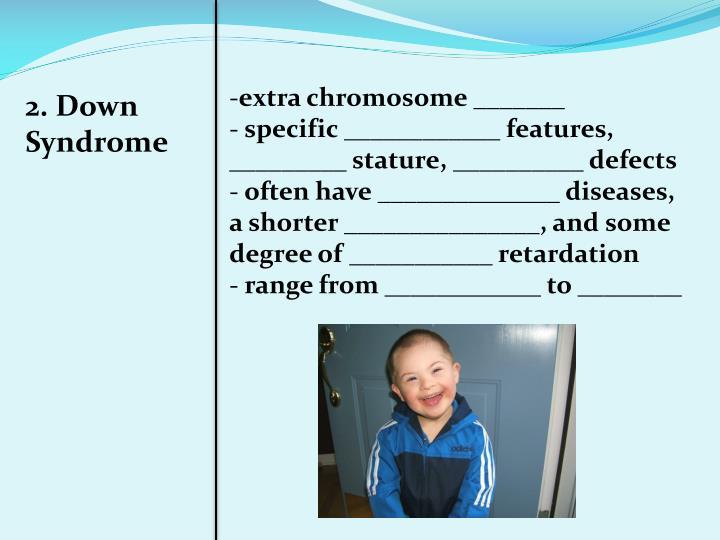 extra chromosome _______