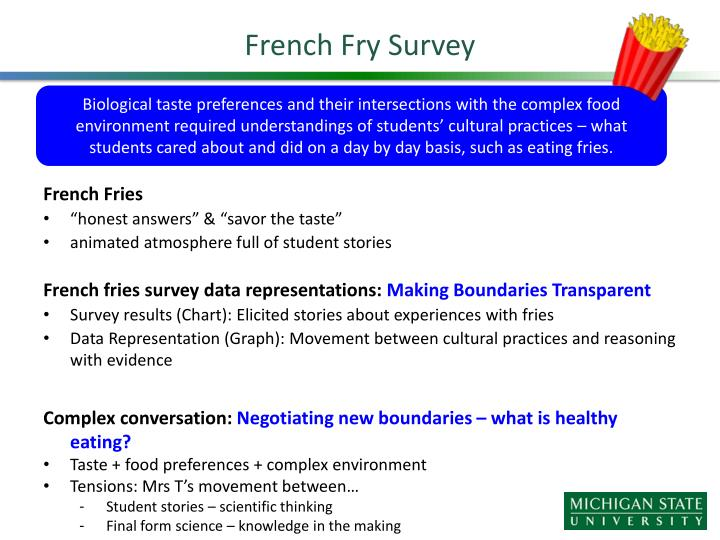 French Fry Survey