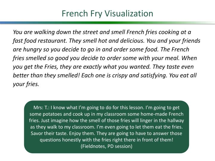 French Fry Visualization