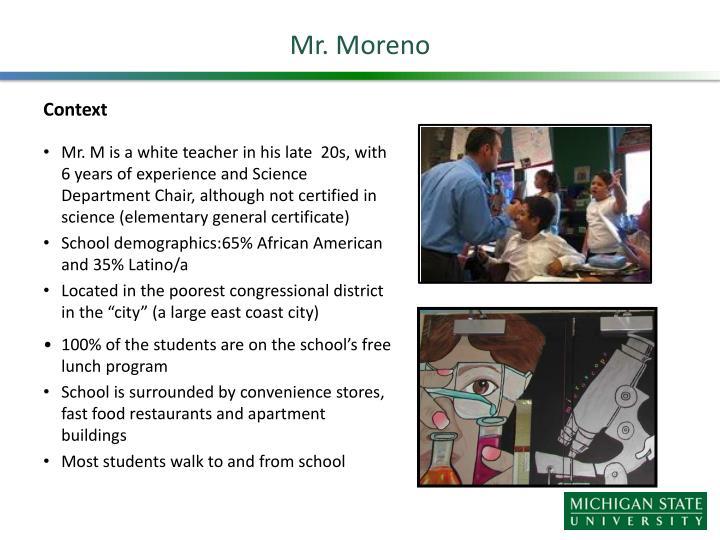 Mr. Moreno