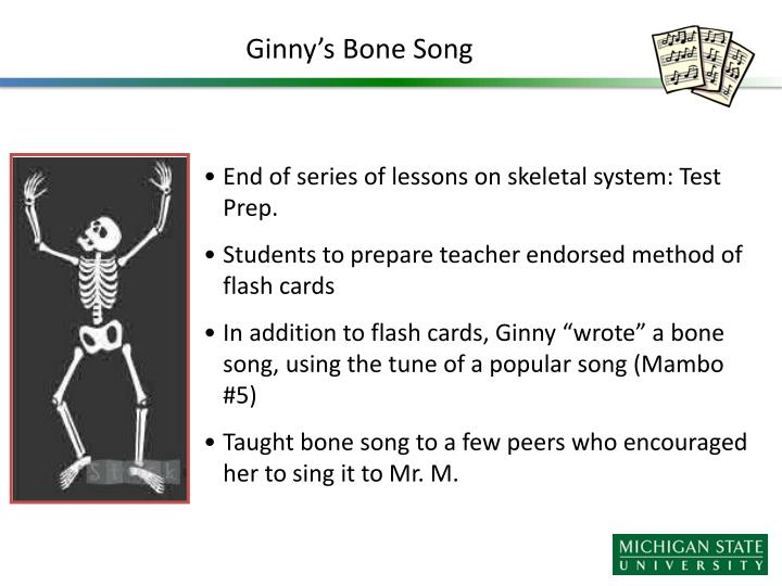 Ginny's Bone Song