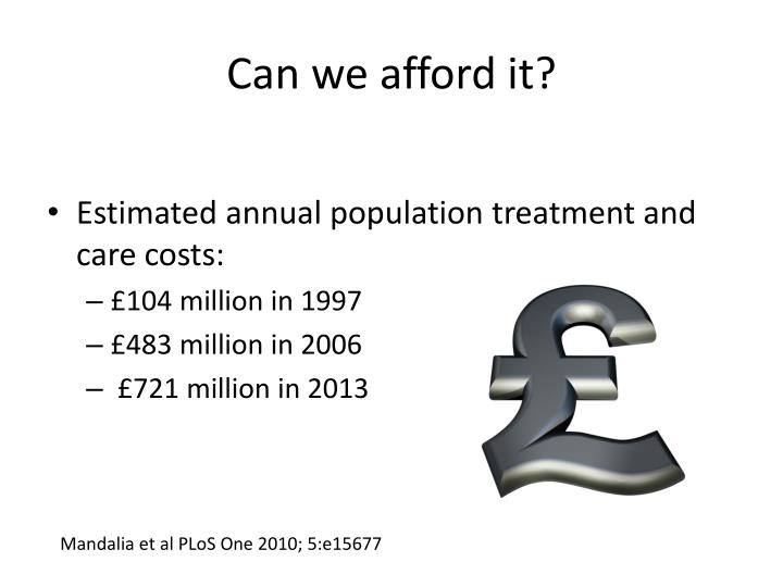 Can we afford it?