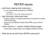 refer issues