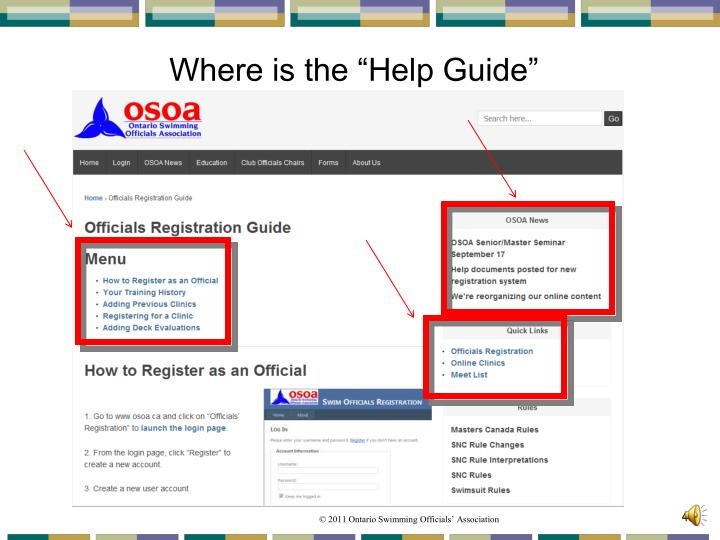 """Where is the """"Help Guide"""""""