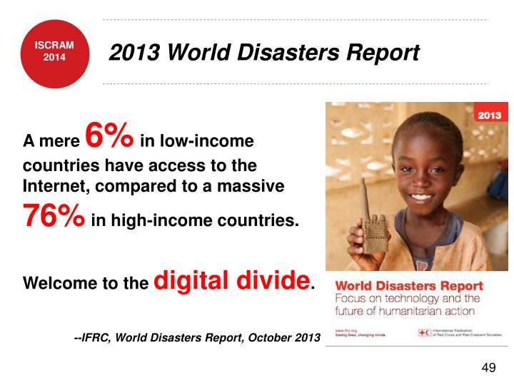 2013 World Disasters Report