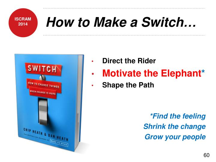 How to Make a Switch…