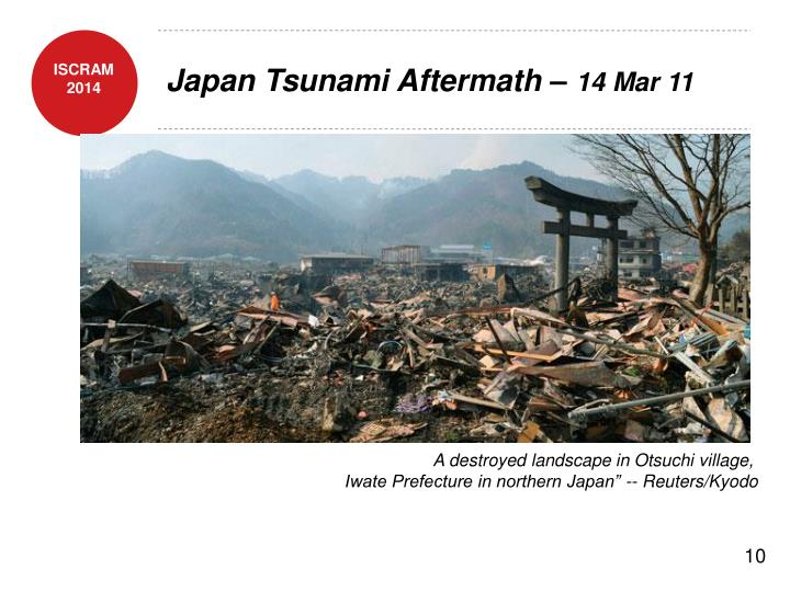 Japan Tsunami Aftermath