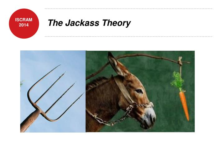 The jackass theory