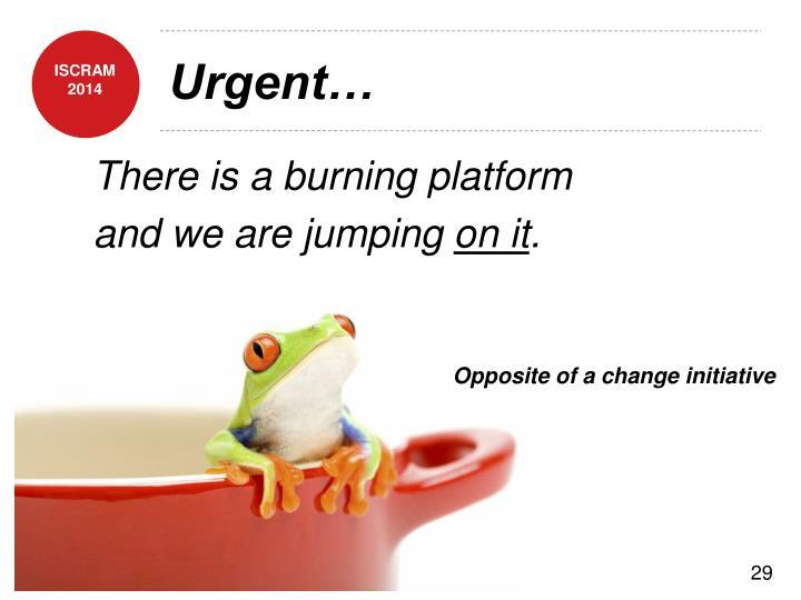 Urgent…