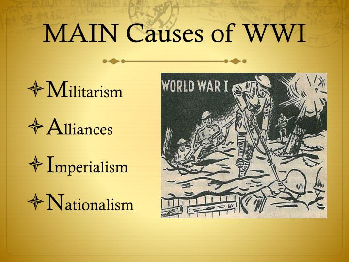 militarism imperialism nationalism and the conflicts between european powers that eventually sparked Yet as the 19 th century wore on and the rivalries between the great powers became  nationalism and imperialism  of eastern european nationalism, in.