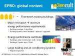 epbd global content