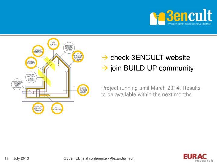 check 3ENCULT website