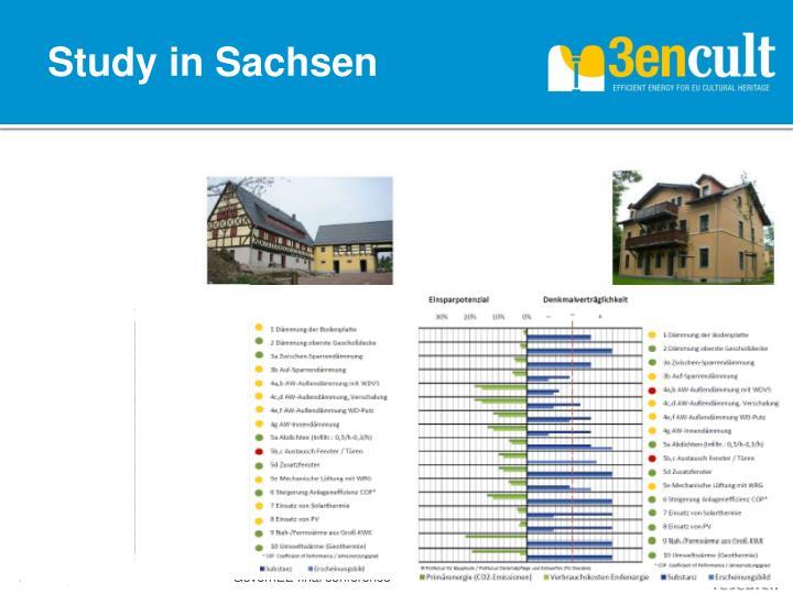 Study in Sachsen