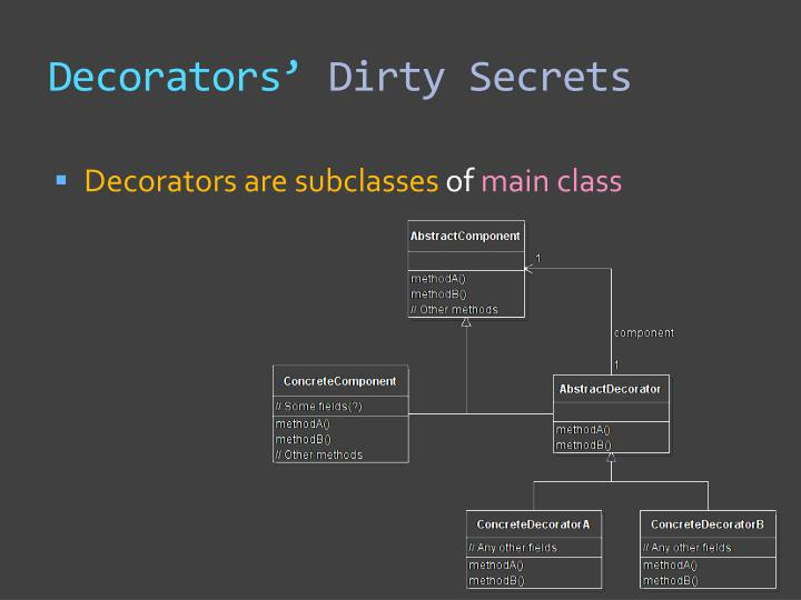 Decorators'