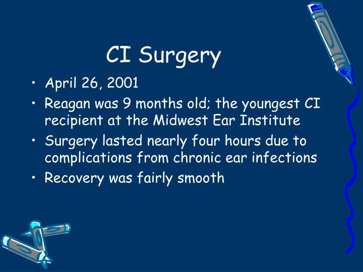 CI Surgery