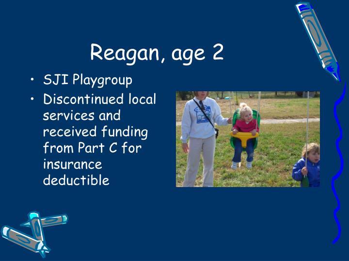 Reagan, age 2