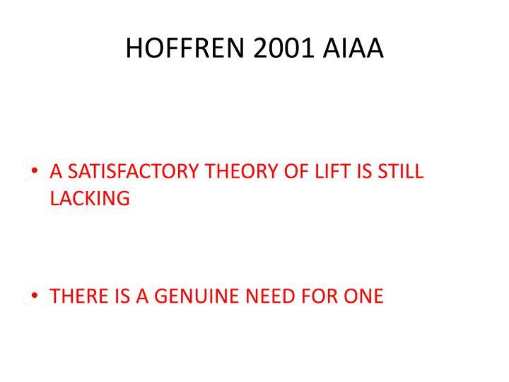 HOFFREN 2001 AIAA